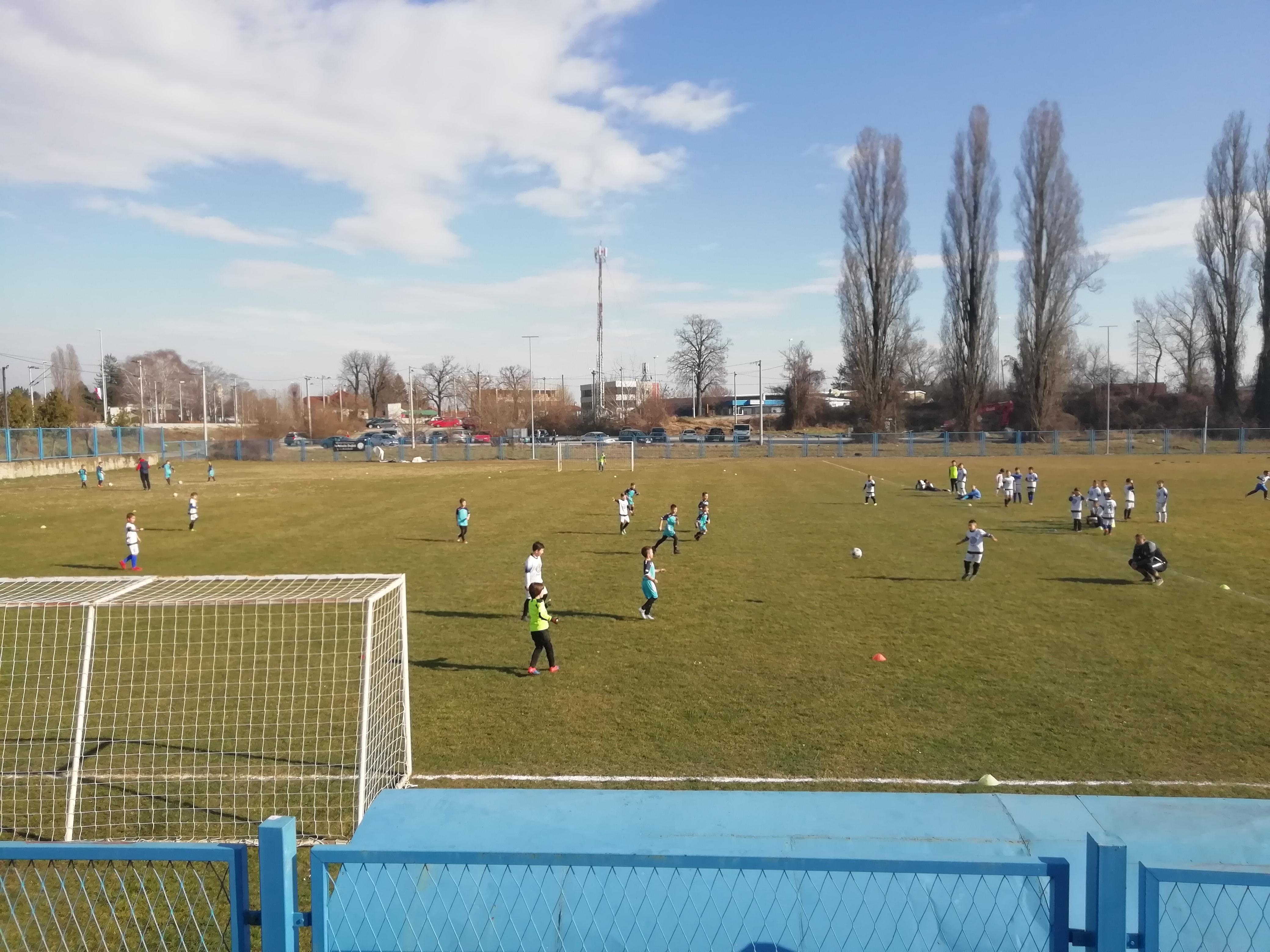 Pripremne utakmice mlađih kategorija za ZNS ligu  u 2019. godini